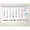 Calendario de sobremesa horizantal