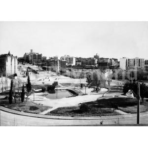 Plaza Imperial Tarraco B/N